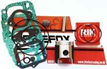 Aprilia AF1 RS125 RS 125 Top End Rebuild Kit Inc Piston & Gaskets ROTAX 122/123